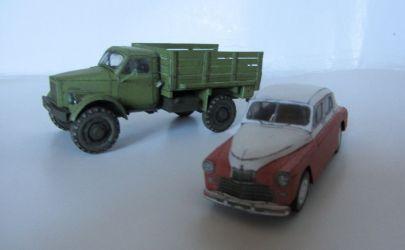 GAZ M-20 Pobieda / Warszawa M-20
