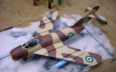 Mikojan i Gurewicz MiG-17F ,,Fresco-C'' (القوات الجوية السورية)