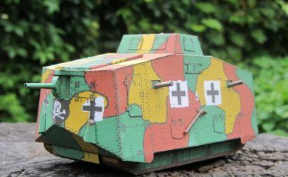 Czołg z I WŚ A7V