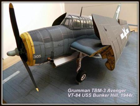 Grumman TBM-3 Avenger/ GPM nr 191