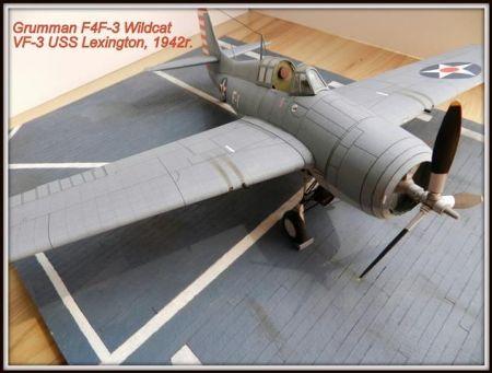 Grumman F4F-3 Wildcat