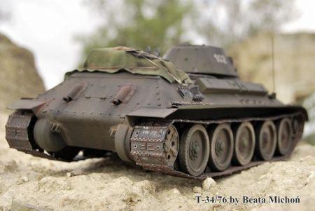 T-34/76 protoplasta RUDEGO