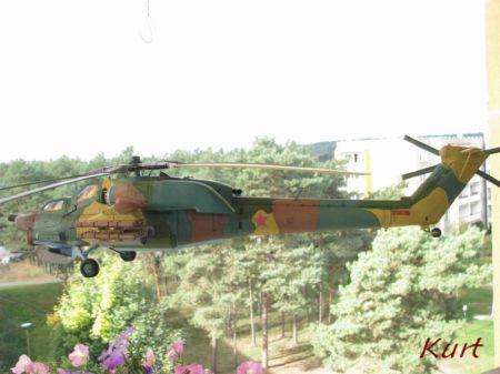 Mi-28 Fly Model