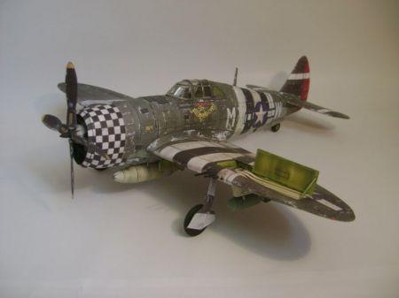 P-47 Thunderbolt - Podrapany Dzbanek
