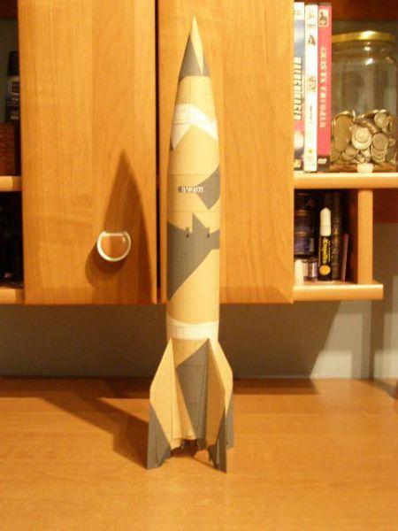 Rakieta V 2 (kolorowa)