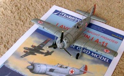 Ławoczkin Ła-11,,Fang'' (조선 민주주의 인민 공화국의 공군)