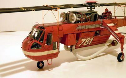 śmigłowiec Sikorsky CH-54 skycrane