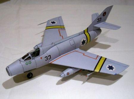Dassault ,,Mystere'' IV A (זרוע האויר והחלל)