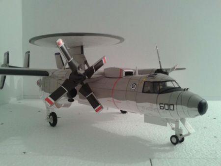 E-2C HAWKEYE   , HALIŃSKI  KA .