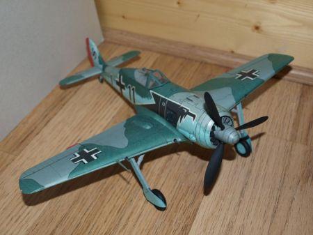 Fw-190 A3 1:33 Model Card