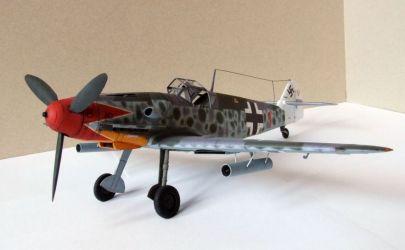 Messerschmitt 109 G-5 Kartonowa Kolekcja