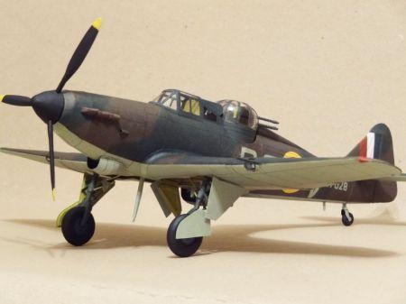 Boulton Paul Defiant mk1