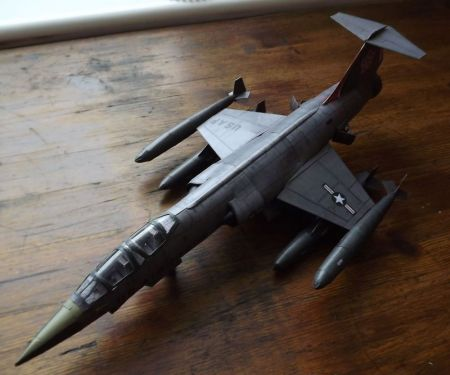 F-104 Starfighter przeskalowany do 1:50