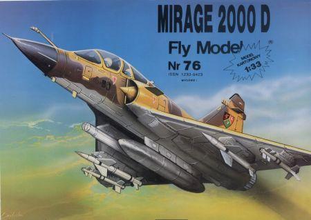 Mirage 2000D (1:50)