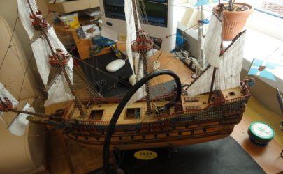 Międzypokład żaglowca Vasa.