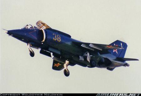 Jak-38 Fly Model 1:50