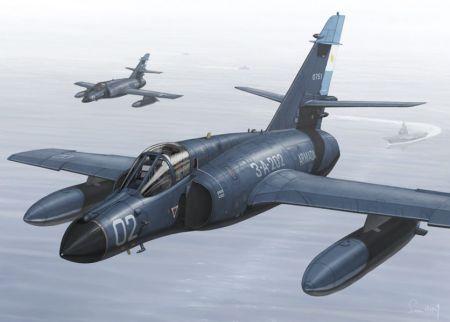 Dassault ,,Super Etendard'' (Comando de Aviacion Naval Argentina)