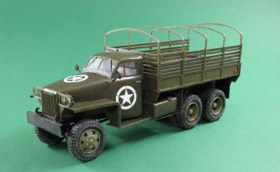 Amerykański Samochód Ciężarowy US-6 STUDEBAKER. 1:25 \