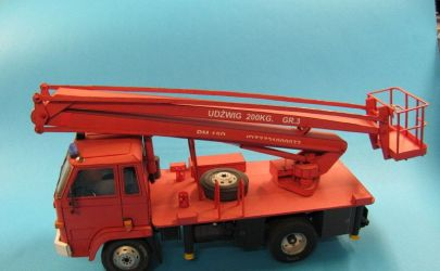 Samochód Ciężarowy Star 200 -Podnośnik
