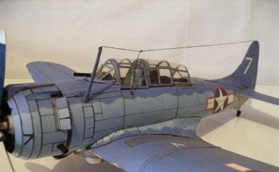 Bombowiec SBD-3 ,,Dauntless''