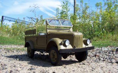 GAZ 69M Mały Modelarz 1984