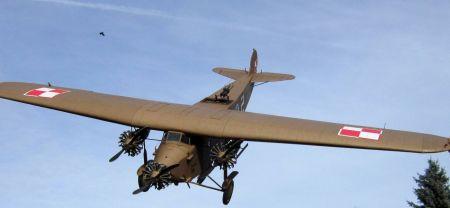 Fokker F.VIIb/3m wersja bombowa.