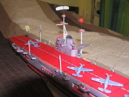 Lotniskowiec Aromanches 1942-1944