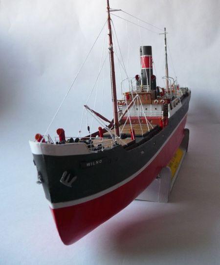 Frachtowiec S.S. Wilno