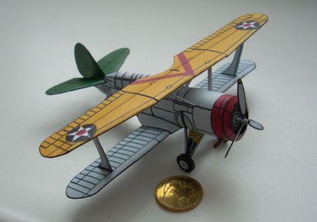 Bombowiec nurkujący Curtiss SBC-4 Helldiver w skali 1:100