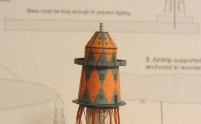 Wieża do cumowania sterowców w St. Hubert