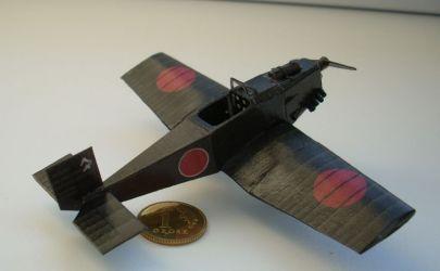Japoński samolot kamikaze Kokusai Ta-Go w skali 1:100