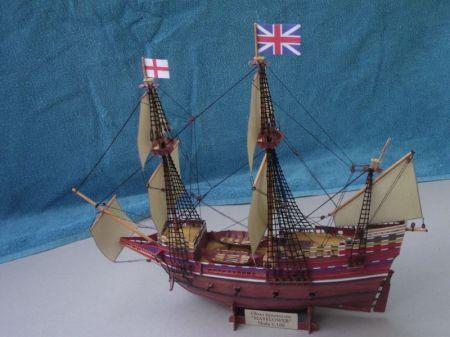 Żaglowiec z XVII wieku Mayflower
