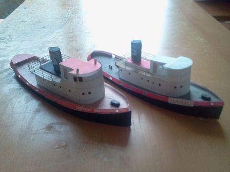 Flota pomocnicza- Despatch 9 i Admiral