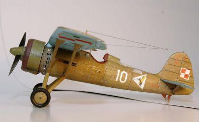 PZL P.11c - Mały Modelarz 9/2003