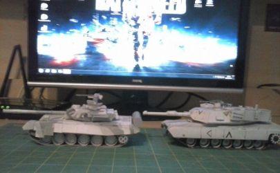 T-90 M1A1/A2