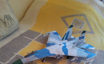 Su-27 B Flanker i inne