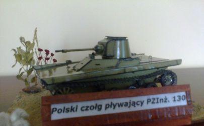 Polski lekki czołg pływający PZInż.130