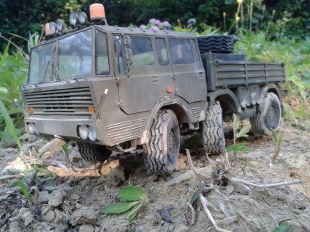 Tatra 813 6X6 + Przyczepa P 50