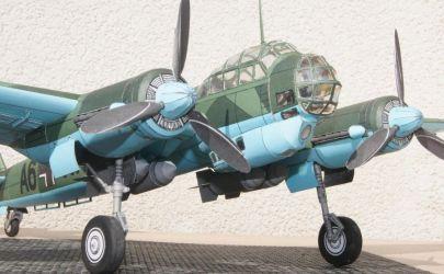 samolot wielozadaniowy Ju88A