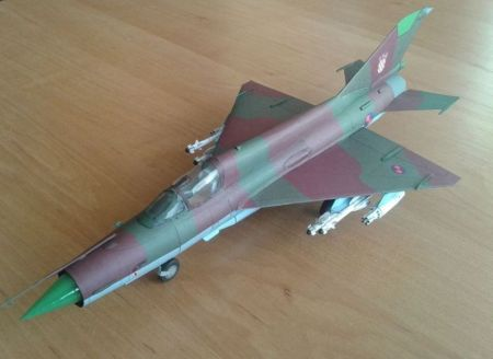 MiG-21bis ,,Fishbed - L'' (Hrvatsko Ratno Zrakoplovstvo)