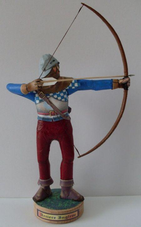 Łucznik angielski z początku XV w.