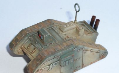 Imperial Cyclop demolition vehicle WH40K