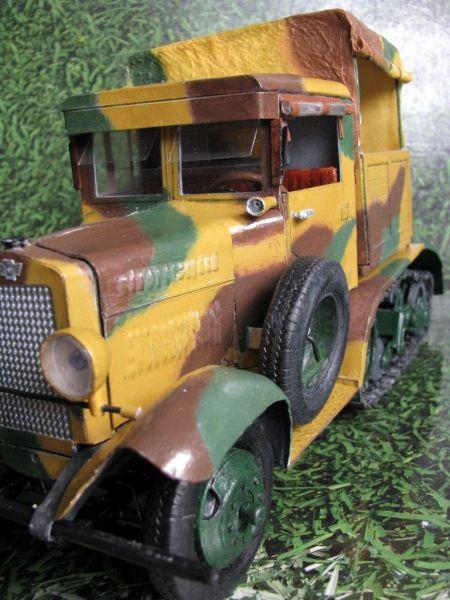 Ciągnik artyleryjski C4P