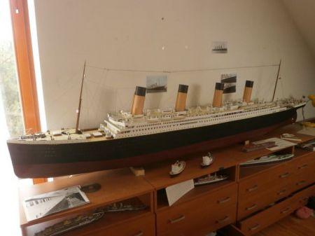 RMS Titanic SKALA 1:100