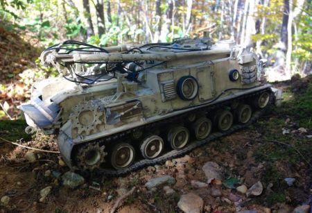 Amerykański wóz zabezpieczenia technicznego M88 A1