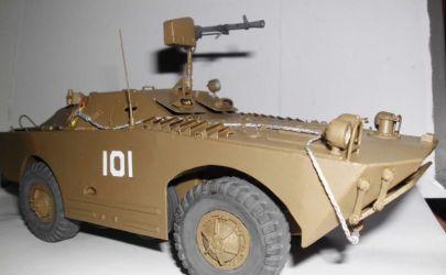 Radziecki samochód rozpoznawczy BRDM