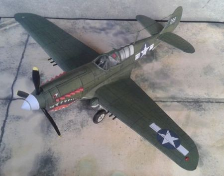 Curtiss P-40N ,,Warhawk'' (75FS, 23FG USAAF ,,Flying Tiger's'')