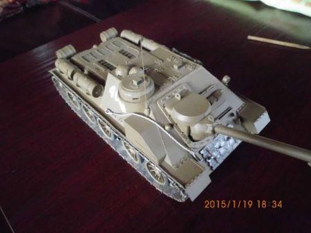 Działo samobieżne Su-100
