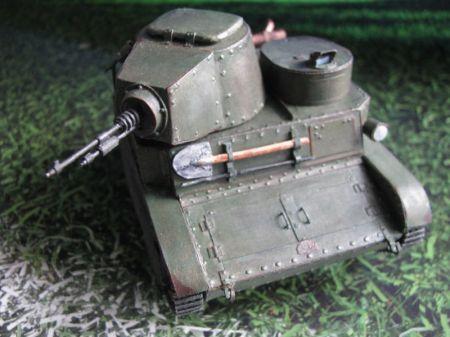 TKW - polska prototypowa tankietka