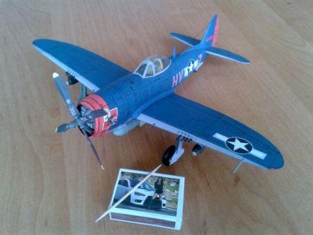 Republic P-47M ,,Thunderbolt'' (61 FS, 56 FG USAAF)
